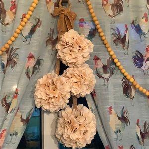 Hydrangea Door Hanger